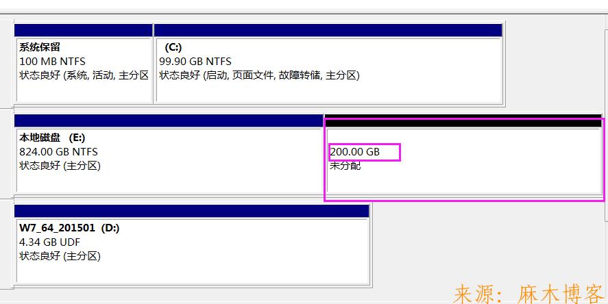 新电脑只有一个分区怎么不进PE系统给硬盘创建新分区!  硬盘分区 创建新分区 第9张