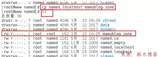 Linux安装BIND服务及配置主/从DNS服务器/缓存服务器第7张-麻木博客