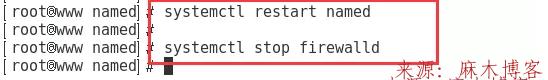 Linux安装BIND服务及配置主/从DNS服务器/缓存服务器第12张-麻木博客